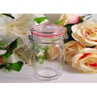 White Crystal Glass Tableware Wide Mouth Mason Jar For Kitchen Manufactures