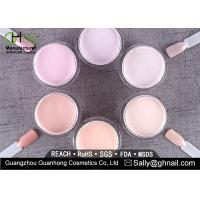 Luxurious Manicure Acrylic Nail Dip Powder For Gel Nail Art , Non - Yellowing