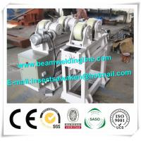 Motorized Pipe Welding Turning Rolls , Cylinder Shell Tank Welding Rotator Manufactures