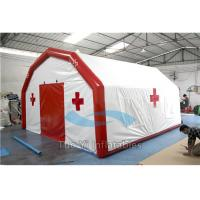 Inflatable Medical Tent Buildings Large Air Tight First Aid Shelter Manufactures