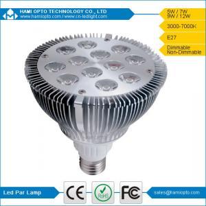 50000h Long Life 12 Watt LED Par Light Aluminum Alloy Lamp Body LED Par38 lamp Manufactures