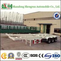 Buy cheap Shengrun Skeletal 40 Feet Container Semi Trailer from wholesalers