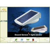 Super Bright White 3w Polysilicon Solar Powered Motion Sensor Flood Lights Manufactures