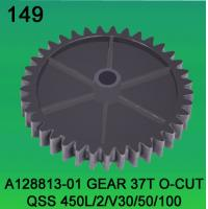 A128813-01 GEAR TEETH-37 O-CUT FOR NORITSU qsf450L,2,V30,V50,V100 minilab Manufactures