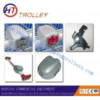 Zinc Alloy Shopping Trolley Spare Parts Shopping Trolley Lock Manufactures