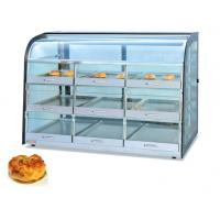 Quality ND-1380 Tray Cabinet / 3-Layer Food Warmer Showcase For Bread Shop for sale