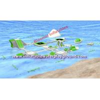 Kids & Adults Inflatable Lake Water Park, Bay Aquatic Park With Water Bouncer Toys Manufactures