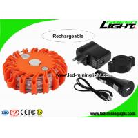 Crushproof Handheld Fred Led Road Flare Emergency Lighting , Car Warning Lights with Hooks Manufactures