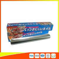 OEM Kitchen Aluminium Foil Roll Food Grade For Cooking / Freezing Manufactures