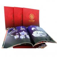OEM / ODM Sewing Binding Softcover Book Printing with glossy art paper for Advertising Manufactures