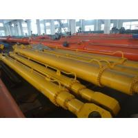 Simple Compact Telescopic Hydraulic Cylinder Flat Gate With Hang Upside Down Manufactures