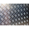 6061 T6 Grade Aluminum Sheet Metal 4 X 8 Diamond Plate 2000-3000mm Length Manufactures