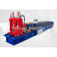 China Easy Installation Purlin Roll Forming Machine With 9.0 Tons Uncoiler Machine on sale