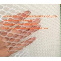 Quality Poultry  Livestock  Farm White PE Plastic Floor Wire Mesh & Fence Mesh for Broiler Chicken Deep Litter System for sale