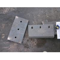 High Cr Wear-Resistant Castings Chute Lining Of White Iron Hardness More than HRC58 Manufactures