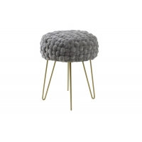 Fashion Pure Hand Knitting Creative Kd Nordic Stool Shoe Changing Manufactures
