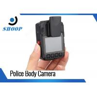 Infrared Light Wearable Video Camera Police Built - In GPS 94 * 61  * 31 Mm Manufactures