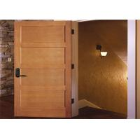 Customized Inside Solid Wood Doors Swing Open Style Durable Hardware Long Lifespan Manufactures