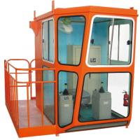 Good Quality Red Design 1.4m Width Cabin For Overhead Crane Operator Manufactures