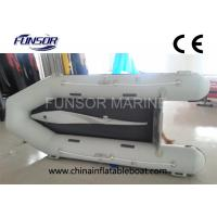 Small 360cm ORCA Hypalon Foldable Inflatable Boat With Airmat Floor Manufactures