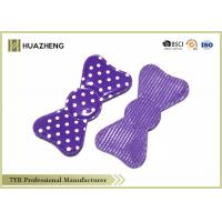 China Coloured Waterproof Baby Girl Hair Bows Durable With Heart Logo on sale