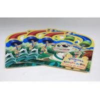 Walt Disney Saddle Stitch Book Printing Square Brochures With Die Cut Manufactures