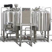 8 bbl  2Vessel Brewhouse Syatem For Brewpub Brewery Equipment With Mirro Polish Interior Manufactures
