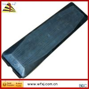 Mini excavator rubber track pad  Track shoe