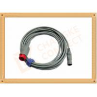 IBP Adapter Cable B .Braun Invasive Blood Pressure Cable 12 Pin , UL And Rohs Standard Manufactures
