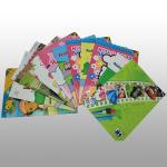 Boardbook Binding Art Paper Coloring Book Printing , Full Clour Offset Printing Manufactures