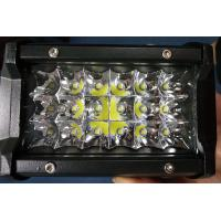 6 Inch 54W Philips Led Work Lights 12v Trip Row 6500k Multiple Colors Manufactures