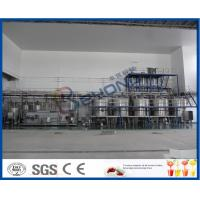 3000-4000BPH Soft Drink Production Line , Beverage Production Process Semi Automatic Soda Filling Machine Manufactures