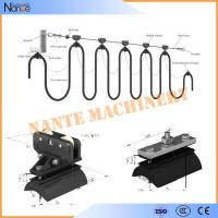 Wire Rope C Track Festoon System , Round Cable Roller / Trolley Festoon Cable Trolley System Manufactures