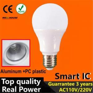 Buy cheap Top quality 2016 led lamp 3w 5w 7w 9w 12w 15w led bulb B22 led E27 220V 110V warm cold white led light 2835 Led from wholesalers