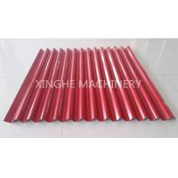 Quality Automatic 850 Metal Roofing Corrugated Tile Roll Forming Machine / Colored Steel for sale