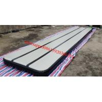 DWF inflatable air track gymnastics,inflatable air tumble track, able air track for gym Manufactures