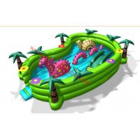 New design inflatable bouncer for sale inflatable amusement park small playground Manufactures