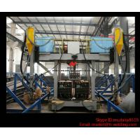 H Beam Production Line Gantry Welding Machine / Equipment With Two Submerged Welder Manufactures