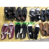 Mixed Size Used Mens Shoes 2nd Hand Canvas / Casual Shoes For West Africa Manufactures