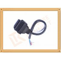 Black 16 Pin Obd Extension Cable Male to Female Cable CK-MF16D00F Manufactures