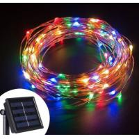 Customized DIY Solar LED String Lights Quick Installation For Business Decoration Manufactures