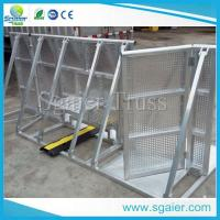 TUV approved mobile barricade,new design folding road barrier Manufactures