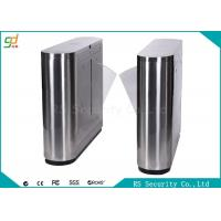 Remote Control Flap Barrier Gate Double Red Wings Metro Magernment Turnstiles Manufactures