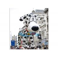 Spotty Dog Shaped Giant Advertising Balloons , Large Helium Balloons For Advertising Manufactures
