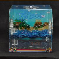 PET Plastic Display Box Customized With Vivid Pictures / Fan Air Vent Manufactures