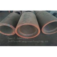 C15  Forged Sleeves  Forged Tube / Block with hole Forged Ring Normalized And Proof Machined Manufactures