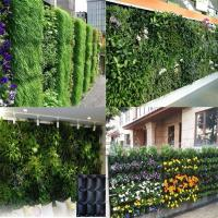 Wall planting grow bag makes your outer wall to be a green garden,customized design Manufactures
