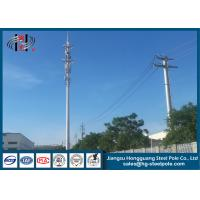 China Hot Dip Galvanized  Telecommunication Towers For  Signal Broadcasting on sale