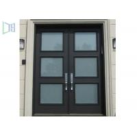 Quality Soundproof Aluminium Casement Door Thermal Break Out Swing Exterior Door for sale