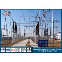 Galvanized Electric Substation Steel Structures for Power Transformer Substation Industry Manufactures